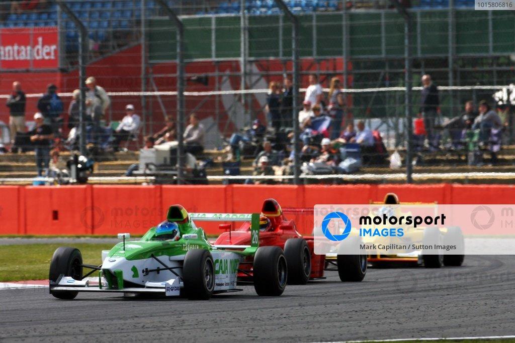 Ramon Pineiro (ESP) FMSI. Formula BMW Europe, Rd 2, Silverstone, England, 18-21 June 2009.