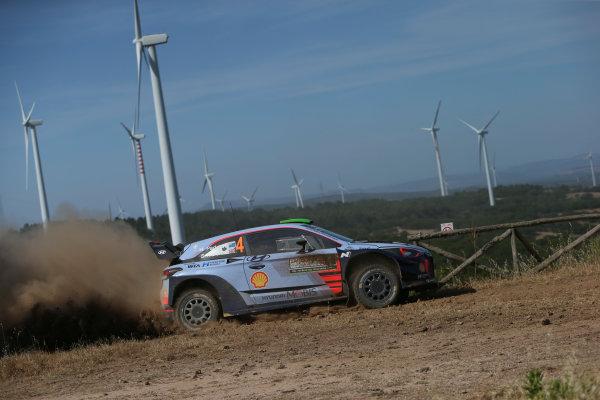 2017 FIA World Rally Championship, Round 07, Rally Italia Sardegna, June 8-11, 2017, Haydon Paddon Hyundai, action Worldwide Copyright: McKlein/LAT
