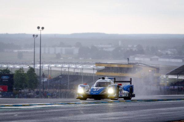 2016 Le Mans 24 Hours. Circuit de la Sarthe, Le Mans, France. KCMG / Oreca 05-Nissan - Tsugio Matsuda (JPN), Matthew Howson (GBR), Richard Bradley (GBR).  Thursday 16 June 2016 Photo: Adam Warner / LAT ref: Digital Image _L5R3375