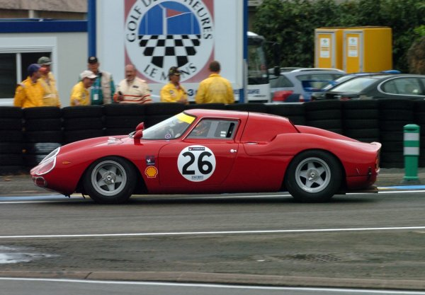 2007 Le Mans 24 Hours, Le Mans, France11th-17th JuneThe 1965 Ferrari 275LM of Nicky LeventisWorldwide copyright: Dave Friedman/LAT PhotographicRef; Digital Image Only