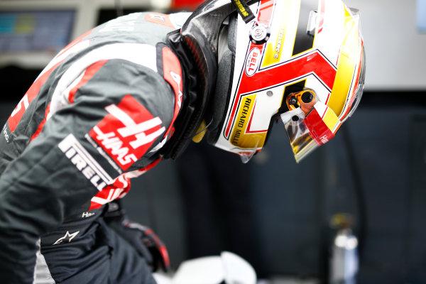 Interlagos, Sao Paulo, Brazil. Friday 11 November 2016. Charles Leclerc, Test and Reserve Driver, Haas F1. World Copyright: Hone/LAT Photographic ref: Digital Image _ONZ4646