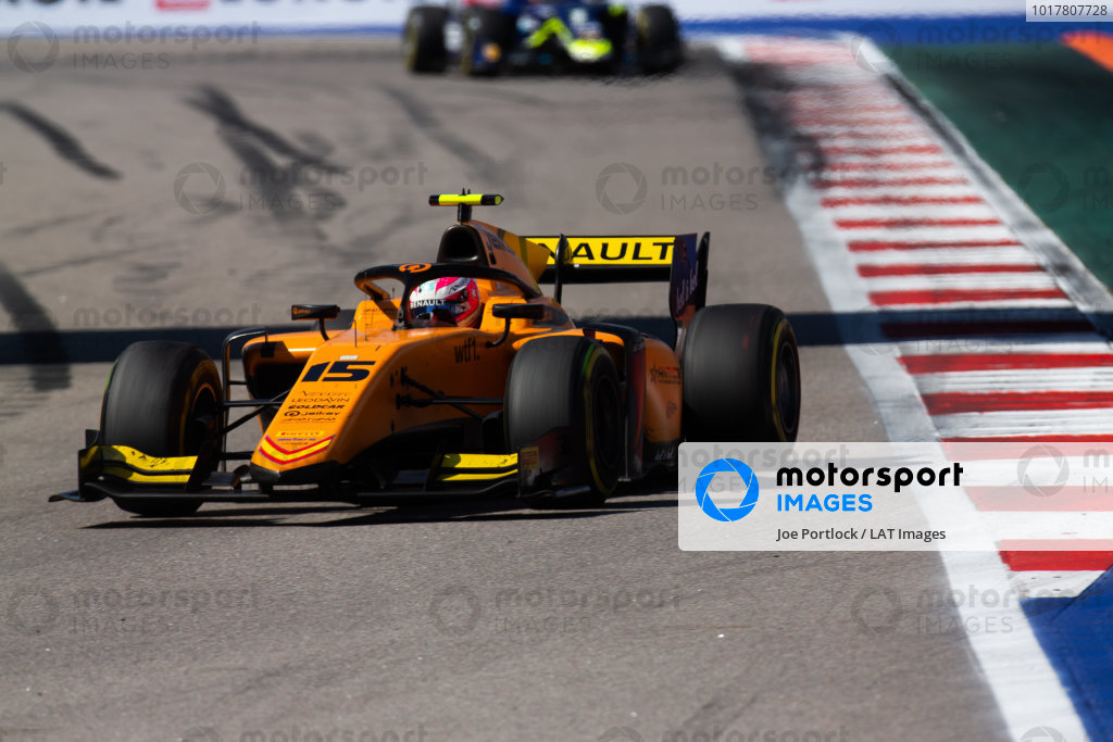 SOCHI AUTODROM, RUSSIAN FEDERATION - SEPTEMBER 29: Jack Aitken (GBR, CAMPOS RACING) during the Sochi at Sochi Autodrom on September 29, 2019 in Sochi Autodrom, Russian Federation. (Photo by Joe Portlock / LAT Images / FIA F2 Championship)