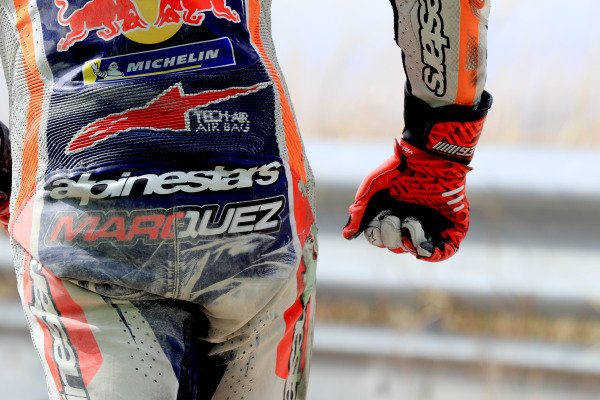 Marc Marquez, Repsol Honda Team after his crash
