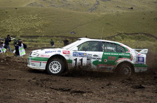 2001 World Rally Championship. ArgentinaMay 3rd-6th, 2001Armin Schwarz on stage seven.Photo: Ralph Hardwick/LAT