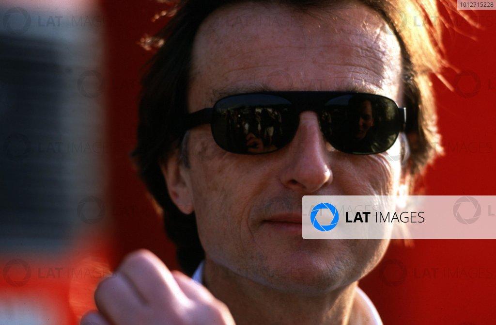 1998 San Marino Grand Prix.Imola, Italy.24-26 April 1998.Ferrari President Luca di Montezemolo.World Copyright - LAT Photographic