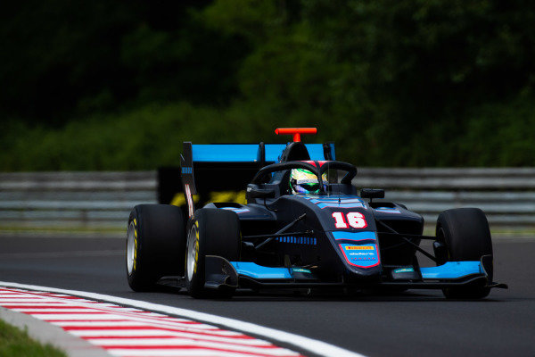 HUNGARORING, HUNGARY - AUGUST 02: Andreas Estner (DEU, Jenzer Motorsport) during the Hungaroring at Hungaroring on August 02, 2019 in Hungaroring, Hungary. (Photo by Joe Portlock / LAT Images / FIA F3 Championship)