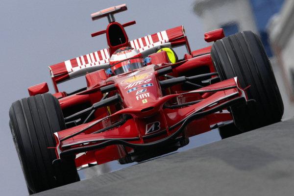 Kimi Räikkönen, Ferrari F2008.