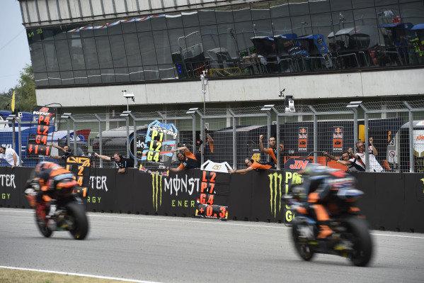 Mechanics of Red Bull KTM Ajo.