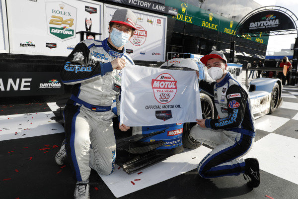 #6: Muehlner Motorsports America Duqueine M30-D08, LMP3: Moritz Kranz, Laurents Hoerr, Motul Pole Award