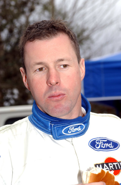 World Rally Championship, Rally of Argentina, May 17-20, 2002.Colin McRae at the service area during shakedown.Photo: Ralph Hardwick/LAT