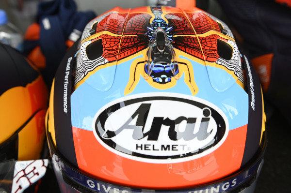 Ayumu Sasaki, Red Bull KTM Tech 3 helmet