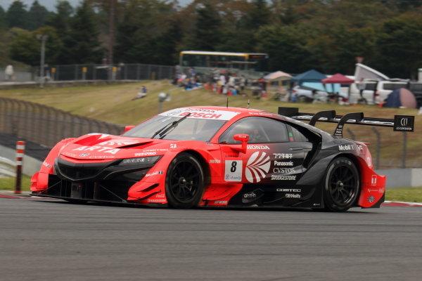 Tomoki Nojiri & Nirei Fukuzumi ( #8 ARTA NSX-GT ), GT500 3rd position