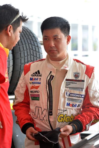 Jacky Yeung (HKG) Tiger Racing Team. Porsche Carrera Cup Asia, Sepang, Malaysia, 28-30 March 2014.