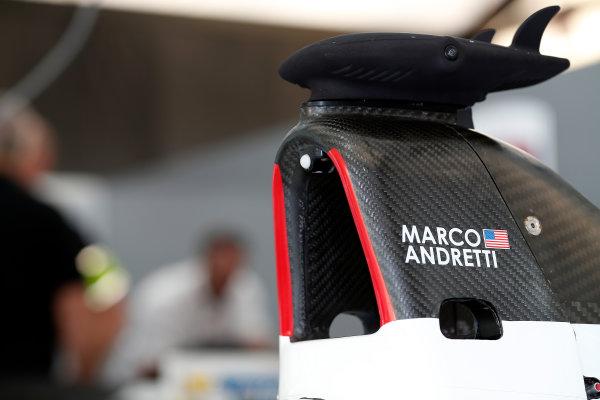 Practice Session 1. Marco Andretti (USA)/Andretti Autosport - Spark-Renault SRT_01E  FIA Formula E World Championship. Buenos Aires, Argentina, South America. Saturday 10 January 2015.  Copyright: Adam Warner / LAT / FE ref: Digital Image _L5R6199