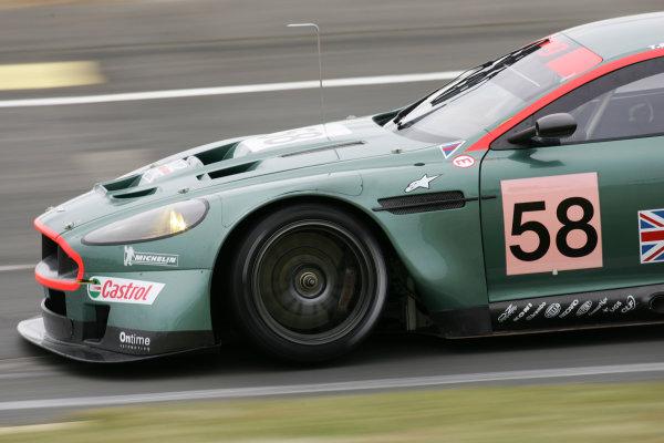 2005 Le Mans Test Day5th June 2005Le Mans, FranceAston Martin Racing ( GBR, Aston Martin DB9 ) Action. World Copyright: Glenn Dunbar / LAT PhotographicDigital Image Only