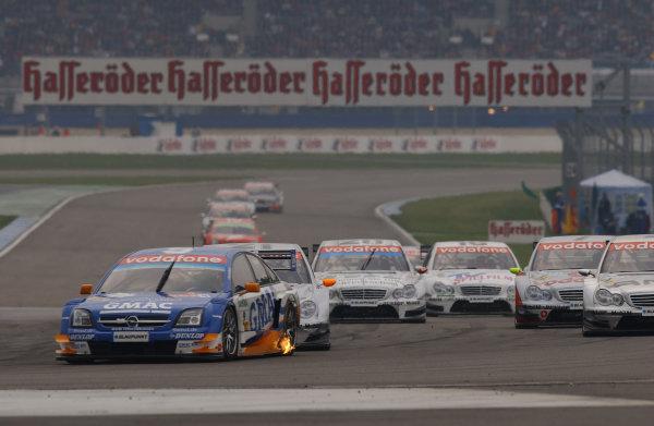 2005 German Touring Car Championship.Hockenheim, Germany. 16th - 17th April.Marcel Fassler (Opel Vecrta GTS V8). Action.World Copyright: Andre Irlmeier /LAT Photographic.Ref: Digital Image Only.
