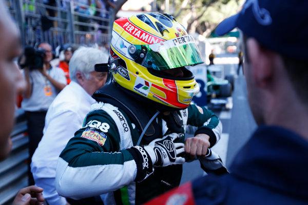 2014 GP2 Series Round 3 - Race 2 Monte Carlo, Monaco. Saturday 24 May 2014. Rio Haryanto (INA, EQ8 Caterham Racing)  Photo: Sam Bloxham/GP2 Series Media Service. ref: Digital Image _SBL3899