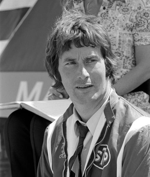 Robin Herd(GBR) March designer British GP, Silverstone, 17 July 1971