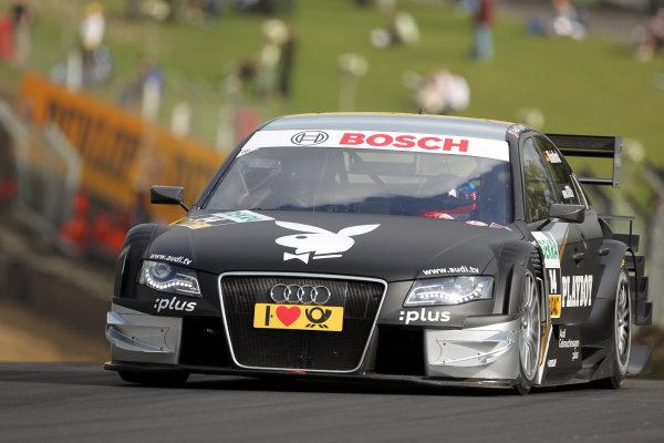 Markus Winkelhock (GER), Audi Sport Team Rosberg, Playboy Audi A4 DTM (2008).DTM, Rd7, Brands Hatch, England, 3-5 September 2010.World Copyright: LAT Photographicref: dne1004se268