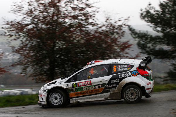 Round 13 - Wales Rally GB. 10th-13th November 2011. Mads Ostberg, Ford, ActionWorldwide Copyright: McKlein/LAT