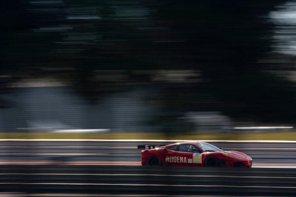 Circuit Paul Ricard, France. 8th March 2009. Antonio Garcia / Leo Mansell, (Team Modena) Ferrari 430 GT. Action. World Copyright: Drew Gibson/LAT Photographic.ref: Digital Image _Y2Z1879