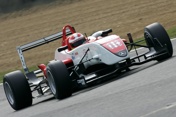 Brands Hatch, Kent. 18th - 20th September 2009.Victor Garcia (ESP) - Fortec Motorsport Dallara MercedesWorld Copyright: Ebrey/LAT Photographic.