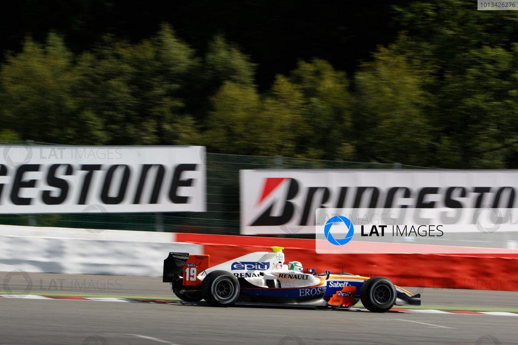Spa-Francorchamps, Spa, Belgium. 30th August 2009.Sunday Race.Davide Rigon (ITA, Trident Racing). Action.  World Copyright: Glenn Dunbar / GP2 Series Media Service.Ref: _3GD9279 jpg