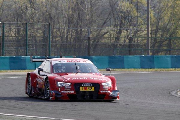 2014 DTM Testing. Hungaroring, Hungary. 31st March 2014. Miguel Molina (ESP) Audi Sport Team Abt Audi RS 5 World Copyright: XPB / LAT Photographic. Ref: 3030949_HiRes.jpg