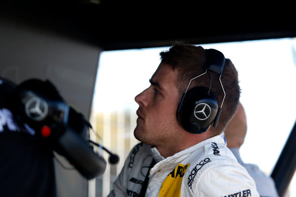 2017 DTM Round 9  Hockenheimring, Germany  Sunday 15 October 2017. Paul Di Resta, Mercedes-AMG Team HWA, Mercedes-AMG C63 DTM  World Copyright: Alexander Trienitz/LAT Images ref: Digital Image 2017-DTM-HH2-AT2-1449