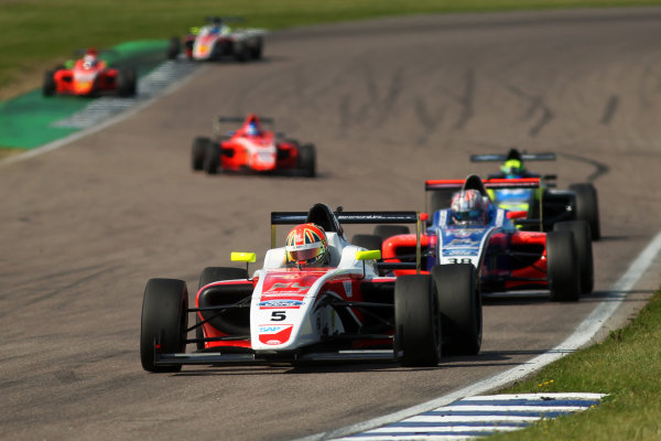 2017 British F4 Championship, Rockingham, 26th-27th August 2017, Oliver York (GBR) Fortec Motorsports British F4  World copyright.. JEP/LAT Images