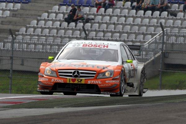 Ralf Schumacher (GER), Salzgitter AMG Mercedes.DTM, Rd3, Red Bull Ring, Spielberg, Austria. 3-5 June 2011.World Copyright: LAT Photographicref: Digital Image dne1104ju19