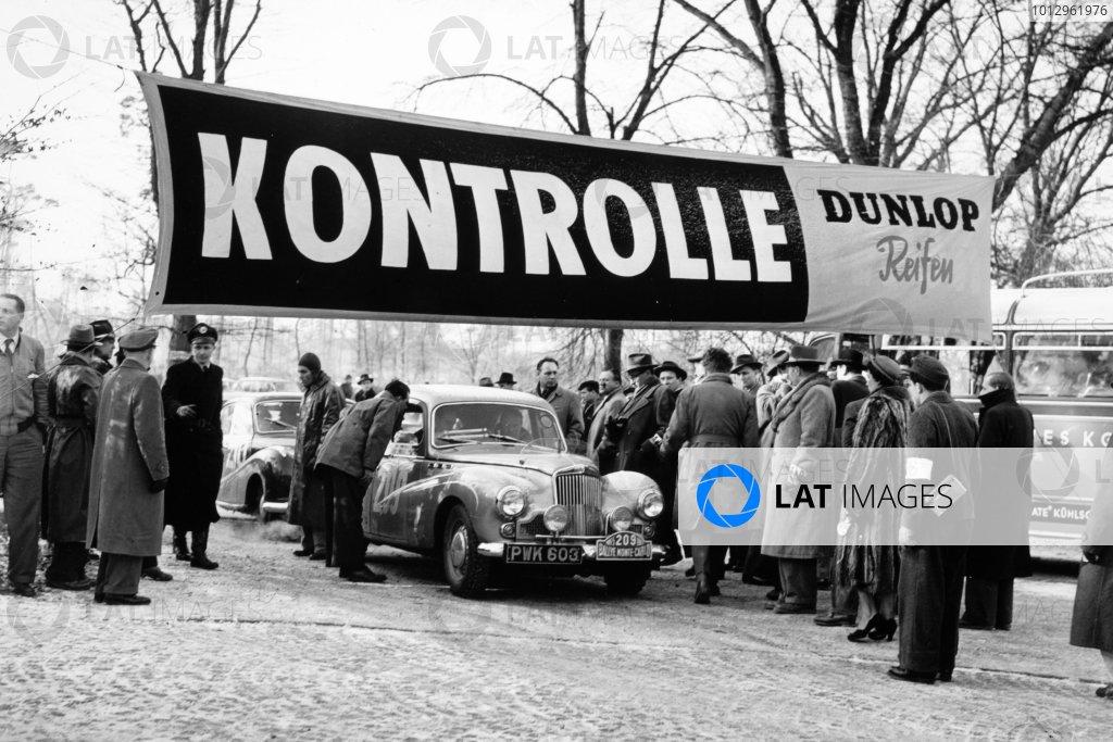 1955 Monte Carlo Rally.