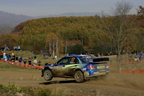 2007 FIA World Rally Champs. Round 14Rally Japan, 25th - 28th October 2007Xavier Pons, Subaru, actionWorld Copyright: McKlein/LAT