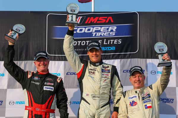 10-12 July 2015, Bowmanville, Ontario Canada Race 1, Cooper Tire Prototype Lites, L1 Masters Podium ?2015, Jake Galstad LAT Photo USA