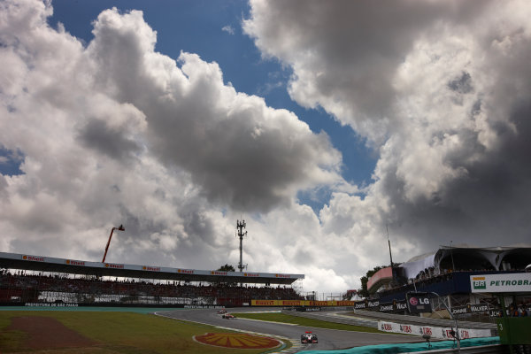 Interlagos, Sao Paulo, Brazil. 27th November 2011. Lewis Hamilton, McLaren MP4-26 Mercedes, retired. Action.  World Copyright: Steve Etherington/LAT Photographic ref: Digital Image SNE25220