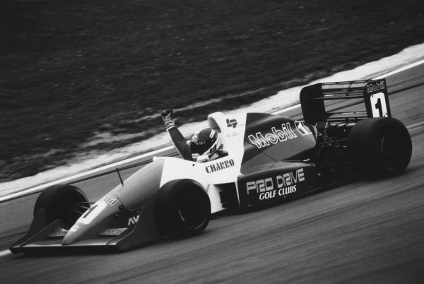 Brands Hatch, England. 12th June 1991. Rd 3.