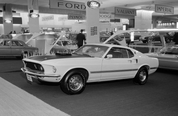 Ford Mustang Mach one.