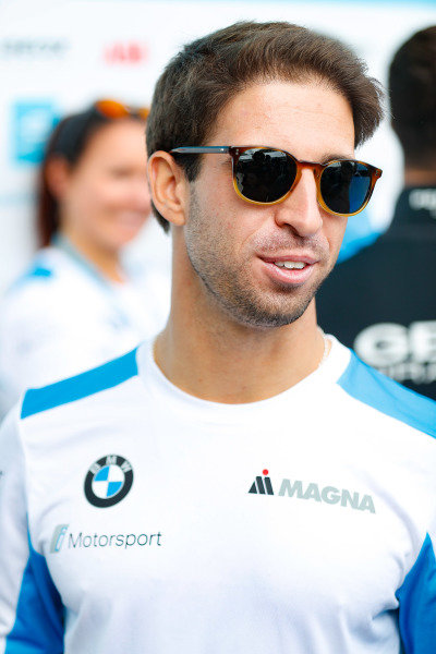 Antonio Felix da Costa (PRT), BMW I Andretti Motorsports, talks to the press