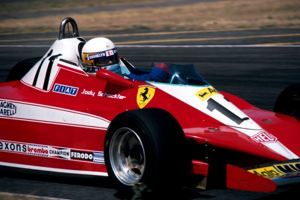Jody Scheckter (RSA) Ferrari 312T3 did not take the restart after spraining his wrist in the multi-car accident at the first start that stopped the race. Argentinean Grand Prix, Rd 1, Buenos Aires, Argentina, 21 January 1979.