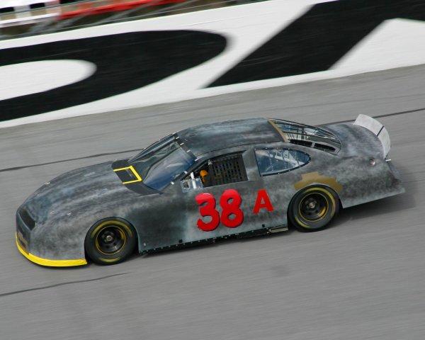 2003 NASCAR TestingDaytona, USA. 7th January 2003 Elliot Sadler (Ford Yates Racing), action.World Copyright: Greg Aleck/ LAT Photographic ref: Digital Image Only