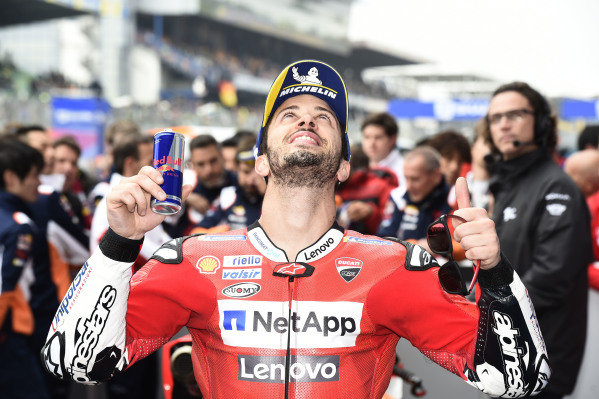 Second place Andrea Dovizioso, Ducati Team.