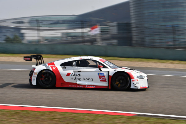 Thong Wei Fung (HK) Phoenix Racing Asia at Audi R8 LMS Cup, Rd11 and Rd12, Shanghai International Circuit, Shanghai, China, 4-5 November 2016.