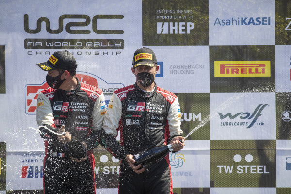 Sébastien Ogier (FRA), Toyota Gazoo Racing WRT, Toyota Yaris WRC 2021, and Julien Ingrassia