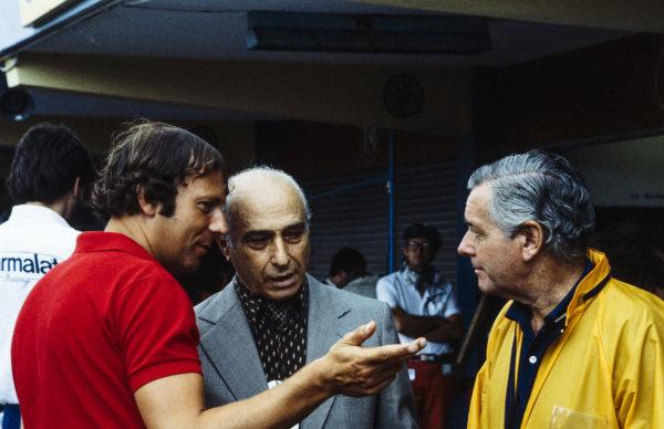 Juan Manuel Fangio.
