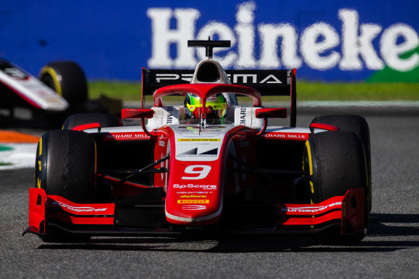 AUTODROMO NAZIONALE MONZA, ITALY - SEPTEMBER 08: Mick Schumacher (DEU, PREMA RACING) during the Monza at Autodromo Nazionale Monza on September 08, 2019 in Autodromo Nazionale Monza, Italy. (Photo by Joe Portlock / LAT Images / FIA F2 Championship)