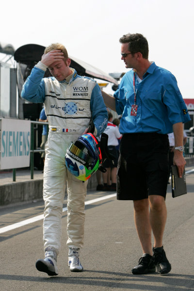 2005 GP2 Series - HungaryHungaroring, Budapest28th - 31st July 2005Friday QualifyingOlivier Pla (F, DPR). Action. Copyright: GP2 Series Media Service ref: Digital Image Only