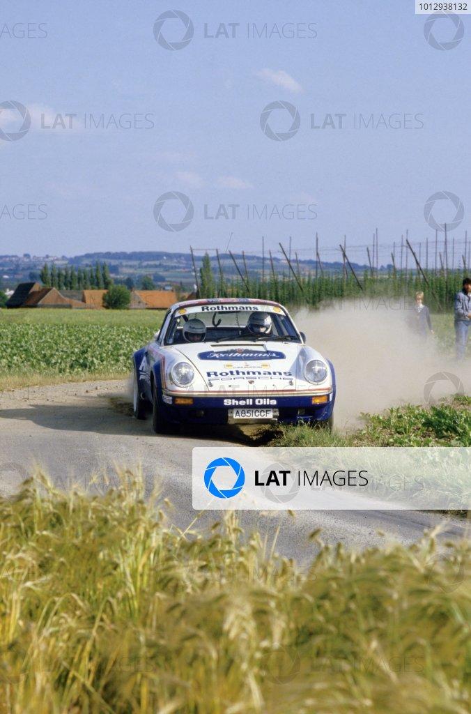 1984 European Rally Championship.