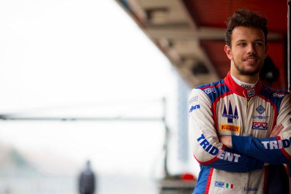Circuit de Barcelona Catalunya, Barcelona, Spain. Monday 13 March 2017. Luca Ghiotto (ITA, RUSSIAN TIME). Photo: Alastair Staley/FIA Formula 2 ref: Digital Image 580A9072
