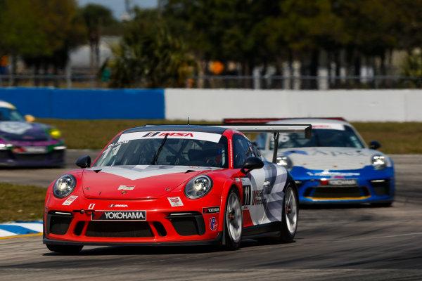 2017 Porsche GT3 Cup USA Sebring International Raceway, Sebring, FL USA Friday 17 March 2017 11, Phil Bloom, GT3P, USA, 2017 Porsche 991 World Copyright: Jake Galstad/LAT Images ref: Digital Image lat-galstad-SIR-0317-14858