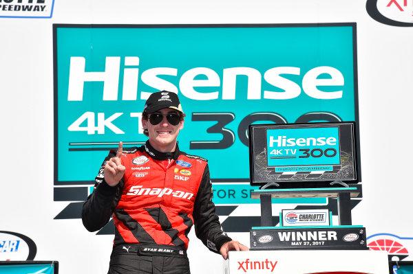 NASCAR Xfinity Series Hisense 4K TV 300 Charlotte Motor Speedway, Concord, NC USA Saturday 27 May 2017 Ryan Blaney, Snap-On Ford Mustang World Copyright: Rusty Jarrett LAT Images ref: Digital Image 17CLT2rj_9609
